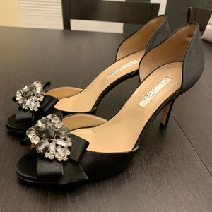 Oscar de la Renta Shoes - Oscar De La Renta Black Evening Shoes size 39